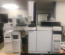 Agilent 7890A Gas Chromatograph with 5975 Series MSD System EI/CI Model Inert