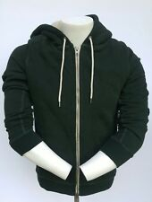 NWT NEW Abercrombie & Fitch  Sherpa Full-Zip Hooded JacketHoodie men's size S