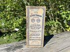 Antique Clark Thread Co. O.N.T Box for Six Cord White Thread #80 11 Spools