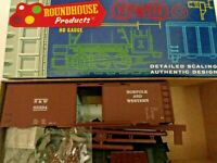 HO scale roundhouse Norfolk and Western 40' AAR  Boxcar KIT