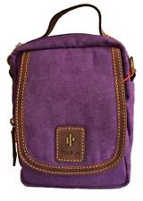 Purple Small Crossbody Bag - RFID Protected - Size: 22 x 16 x 13cm