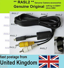 Original Panasonic AV cable For Leica D-LUX 5, D-Lux 6 ,V-Lux 30 ,V-Lux 40 ,