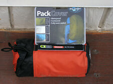 New! Sea to Summit Waterproof Back Pack Cover Red Medium 50-70 Litres