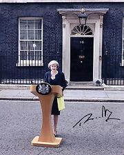 Theresa May ++ Autogramm ++ Premierministerin ++ Konservative Partei
