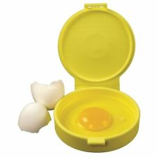 Casabella Silicone MicroEgg Round - Microwave Egg Cooker for Bagel Sandwiches
