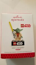 Hallmark Ornament Star Wars Lego Master YODA - May the Force Be with You - 2013