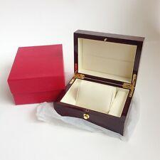 Reloj de pulsera Caja De Lujo Solo bloqueo de almacenamiento de alto brillo de madera de cerezo Estuche Caja Para Hombre