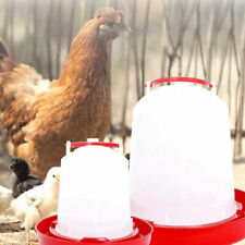 Gravity Pet Feeder 1.5/3kg Poultry Chick Chicken Hen Water Food Dispenser Feed