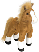 CUDDLEKINS HORSE PLUSH SOFT TOY 35CM STUFFED ANIMAL BY WILD REPUBLIC