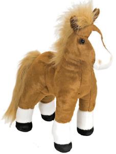 CUDDLEKINS HORSE PLUSH SOFT TOY 30CM STUFFED ANIMAL BY WILD REPUBLIC
