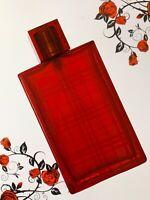 Rare!!! Burberry Brit Red - 50ml left  Eau De Parfum women perfume Spray