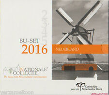 """NEDERLAND NATIONALE BU SET 2016: """"WETENSCHAPPELIJK ERFGOED IN NEDERLAND"""""""
