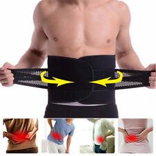 Lower Back Support Pain Relief Belt Lumbar Brace Strap Posture Waist Trimmer NEW