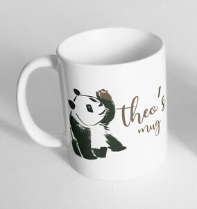 Personalised Panda Printed Cup Ceramic Novelty Mug Funny Gift Coffee Tea 7