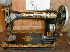 White Rotary Sewing Machine 151 153 Rear Cover w Screw Original Parts P54