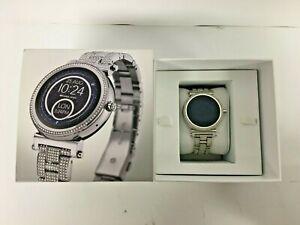 Michael Kors Women's Smartwatch Sofie (MKT5024) Silver Glitz (71817/BCH)