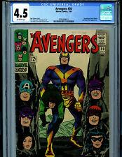 Avengers #30 CGC 4.5 Silver Age Marvel Comics 1966 Amricons B12