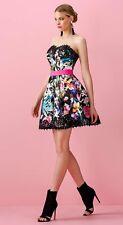 Abito Allure corto floreale giovane taglia 46 Elegant dress Elegantes Kleid Robe