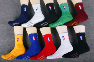 Nike NBA Elite Quick Socks  - Crew and Full Length - Red, Blue, Navy, and more!