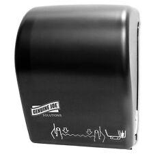 99706 Genuine Joe Hardwound Touchless Towel Dispenser Black