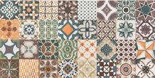 """Spanische Wandfliese """"Catania Messina"""", 15x30 cm, Ornamente, Mosaik"""