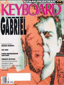 Peter Gabriel, Roland W-30, 1989 Keyboard Magazine, THE CURE, Program Your Synth
