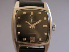 Mechanische - (Handaufzugs) Tonneau Armbanduhren aus Edelstahl