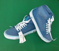Lacoste Vaultstar Mid  Damen High-Top Sneakers Freizeitschuhe Gr. 36 blau