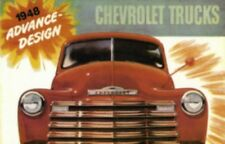 CHEVROLET 1948 Truck Sales Brochure 48 Chevy Pick Up
