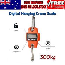 CRANE SCALE 300KG ELECTRONIC MINI PORTABLE DIGITAL INDUSTRIAL HOOK HANGING AU