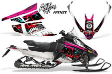 Arctic Cat F Series Sled Wrap Snowmobile Graphics Kit Stickers Decals FRENZY RED