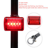mountain bike 5led headlight black butterfly tail light bicycle accessories s SL