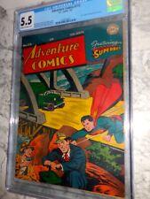 1947 DC Adventure Comics #112 CGC 5.5 Superboy