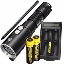 NITECORE DL10 1000 Lumens Diving Light, 2x 2300mAh 18650, UM20 Battery Charger