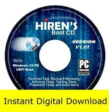 Hirens BootCD PE x64 (v1.01) Bootable Tools Windows 10 Linux ISO (Download)