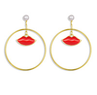 Fashion Bohemia Women Geometric Eye Heart Earrings Drop Dangle Stud Punk Jewelry