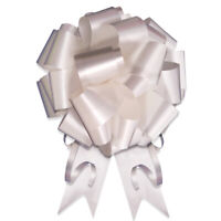 "10 pack - 5"" Pull Bow Pull Bows Wedding Pew Bows Decorations Christmas Gift Wrap"