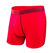 Saxx Men's Platinum Boxer Fly - Red - Small