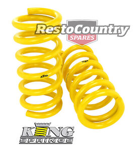 Holden Coil KING Spring PAIR Torana LH LX UC 4-6cyl V8 REAR 50mm Super Low