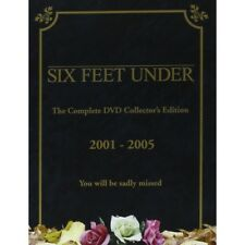 SIX FEET UNDER - COMPLETE DVD SERIES 1,2,3,4 & 5 - - POSTAGE