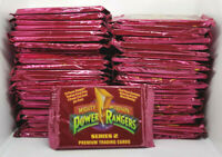 1994 COLLECT-A-CARD * POWER RANGERS SERIES 2 JUMBO * LOT OF 50 SEALED PACKS *WOW