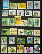 SINGAPORE Birds. Large high value selection of stamps. Used