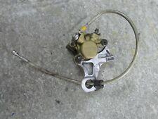 Honda CBR 954 2002 2003 Nissin rear brake caliper hanger bracket & braided hose