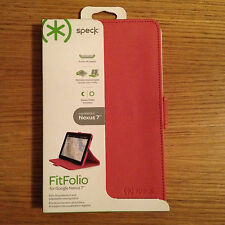 SPECK FITFOLIO CASE GOOGLE NEXUS 7 PINK SPK-A1627 TATTY PACKAGING SLIGHT DAMAGE