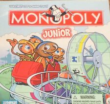 Monopoly Junior Board Game 2005 Edition with Amusement Park Theme