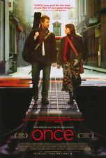 ONCE Movie POSTER PRINT 27x40 Alaistair Foley Catherine Hansard Glen Hansard