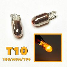 Parking Light T10 194 168 2825 2827 12961 w5w Silver Chrome Amber Bulb M1 M