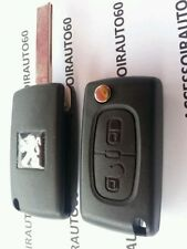 Clé Télécommande car key clef pour Peugeot 207 * 307 * Partner CE0536 /  433mhz
