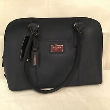 Tignanello Clean & Classic Saffiano Leather Satchel - Midnight blue or Green