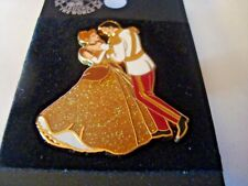 Cinderella and Prince Charming Gold Le 500 Disney Wdw Passholder Pin Mint